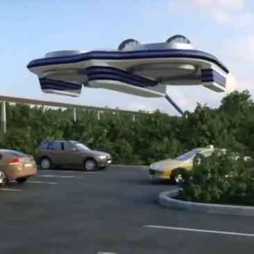 Гігантський квадрокоптер для перевезення пасажирів