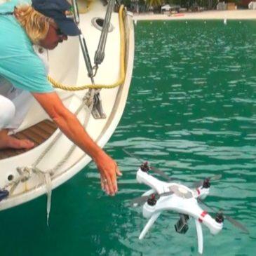 Mariner: літаючий дрон, що не боїться пірнати