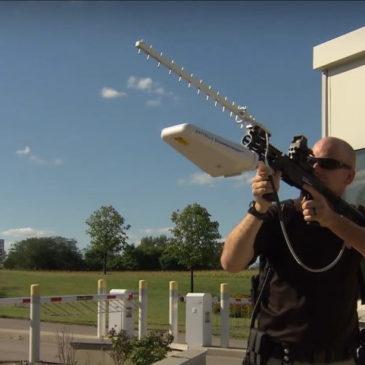 DroneDefender – рушниця для боротьби з літаючими дронами