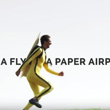 PowerUp FPV: паперовий дрон з онлайн-трансляцією відео