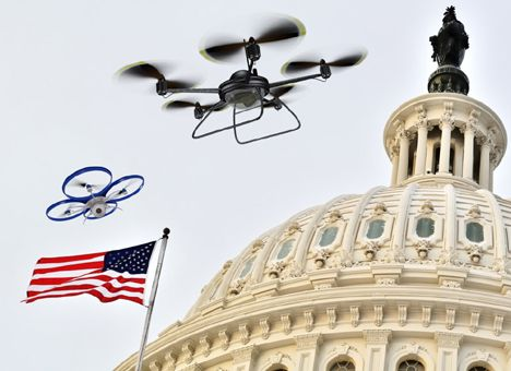 У США необхідно буде реєструвати дрони