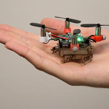 Picobug: літаючий дрон, який вміє ходити