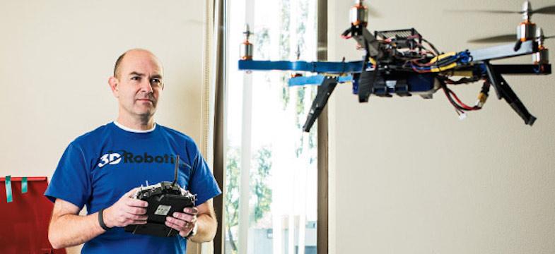 Що чекає індустрію дронів в найближчі три роки: прогноз Кріса Андерсона