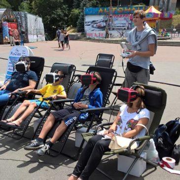 В Україні запустили сервіс прогулянок на квадроптерах