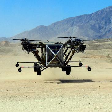 Американці показали гібридний дрон-позашляховик Autonomous Panther AT