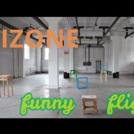 Indoor-польоти на міні-дронах в креативному співтоваристві Izone