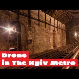 Польоти на мікродроні в київському метро