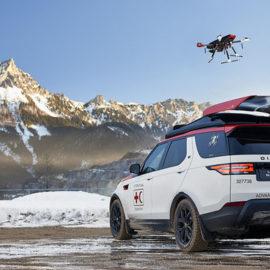 Land Rover оснастив позашляховик дроном