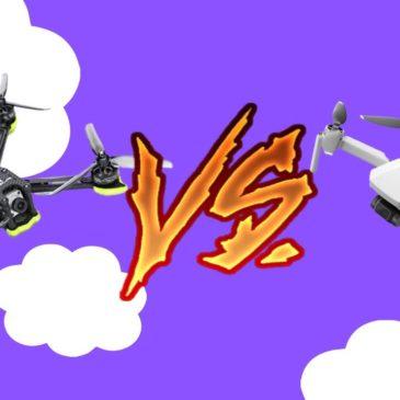 Дронологія. Який квадрокоптер купити? Гоночні FPV безпілотники VS дрон для зйомки відео з підвісом